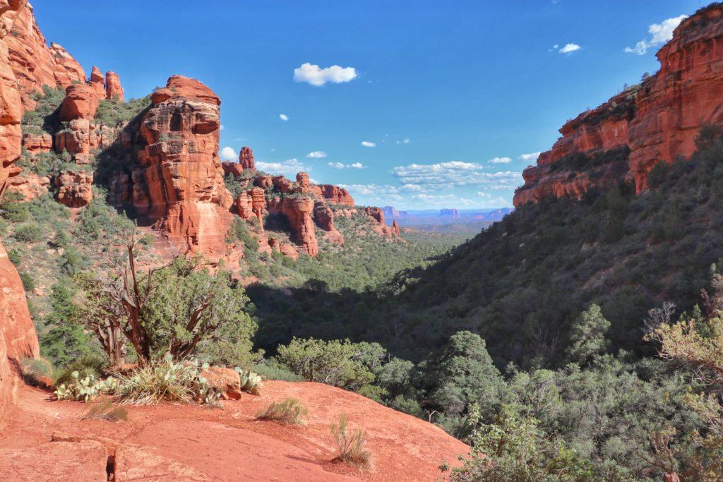 Best hikes in Sedona Fay Canyon