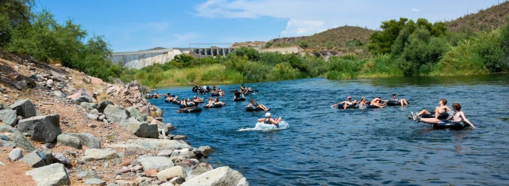 The phoenix bucket list things you have to do salt river tubing