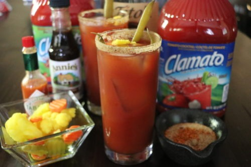 Best bloody mary caesar recipe