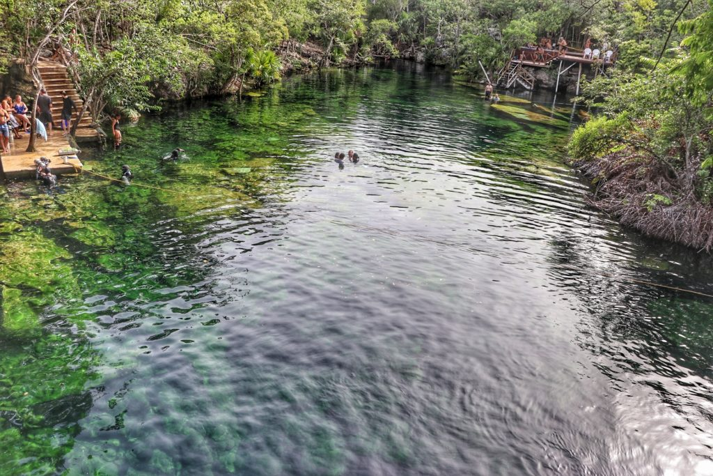 Cancun best things to do bucket list cenote jardin del eden