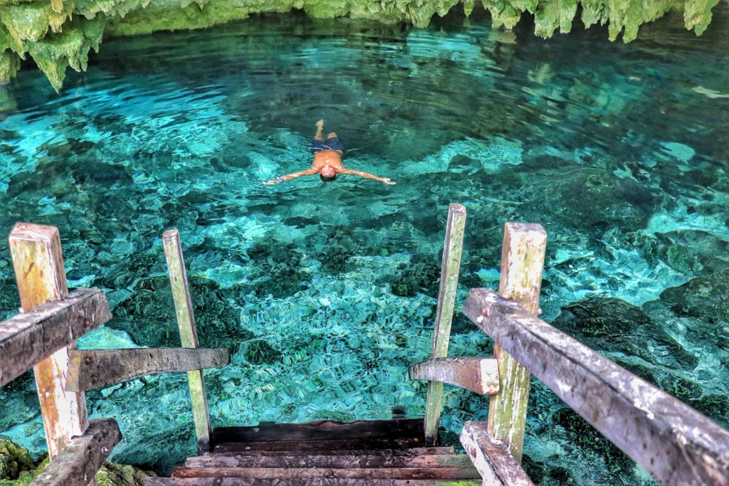Cancun best things to do bucket list cenote dos ojos