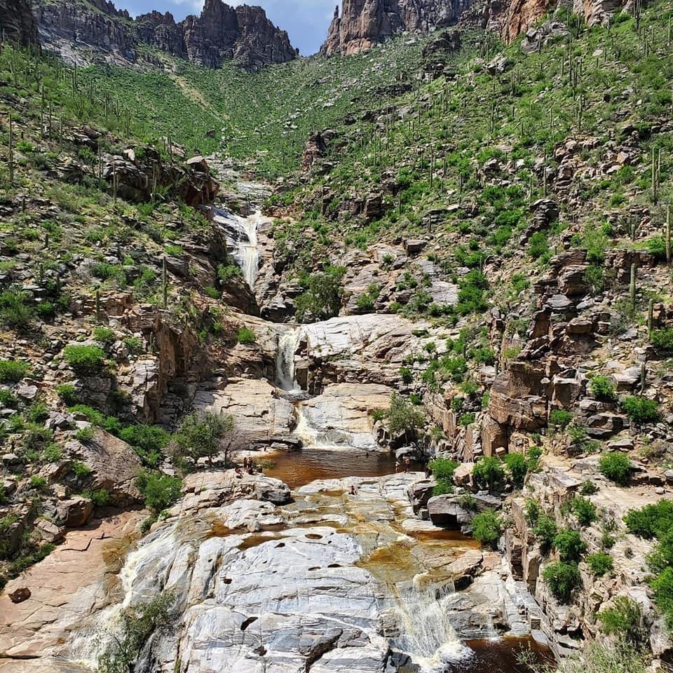 Seven Falls Tucson Best Waterfalls Arizona