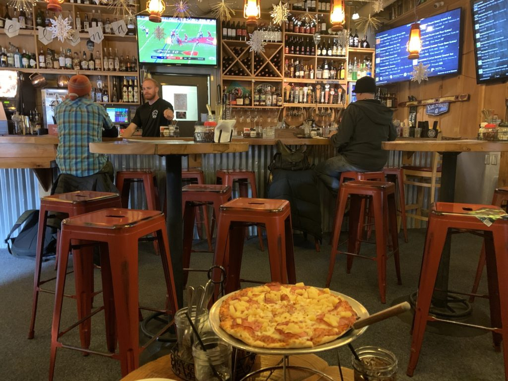 Best bars in South Lake Tahoe Base Camp Pizza
