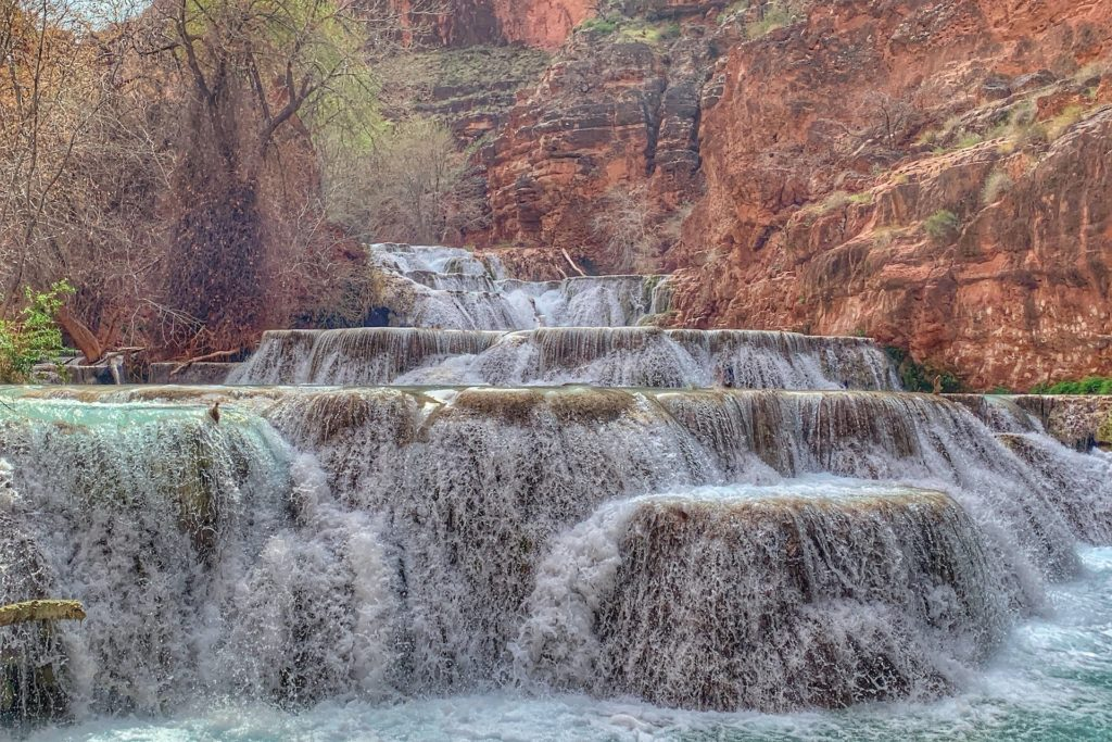 Beaver Falls Havasupai Falls Hike guide best waterfalls in Arizona