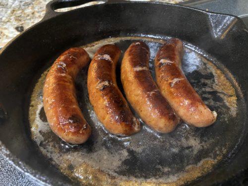 Easy Pan Fried Bratwurst Recipe 3
