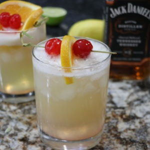 Perfect Whiskey Sour