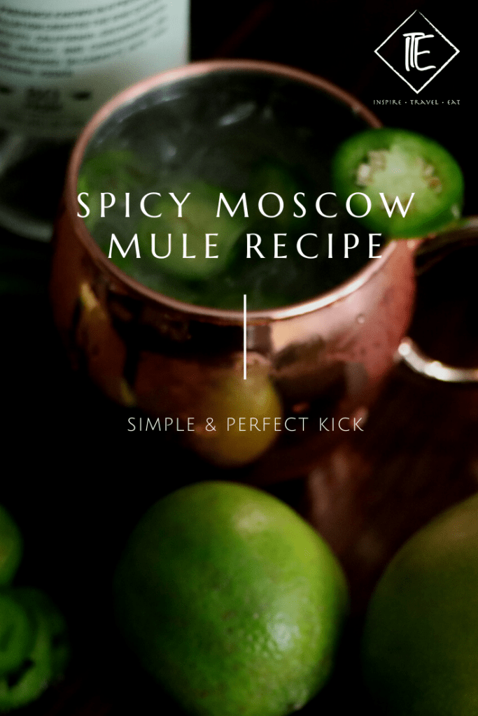 Easy Spicy Moscow Mule recipe