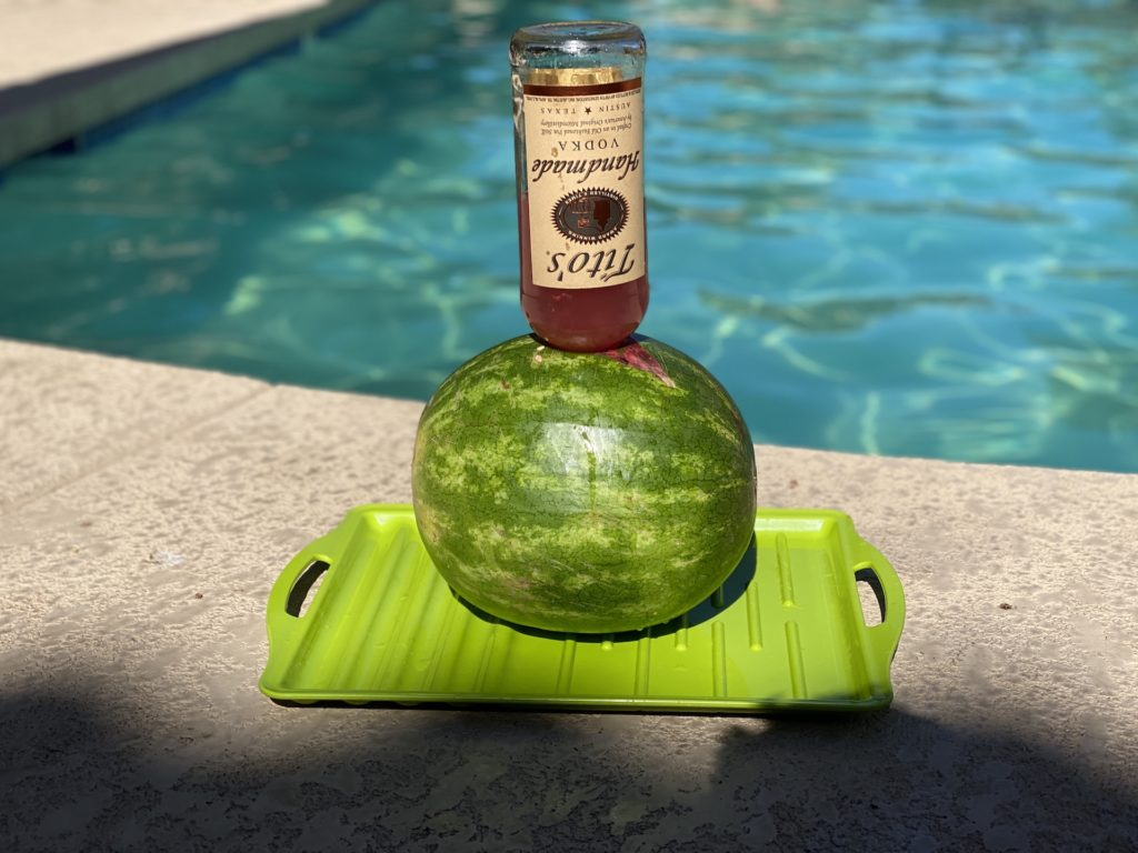 easy spiked watermelon recipe