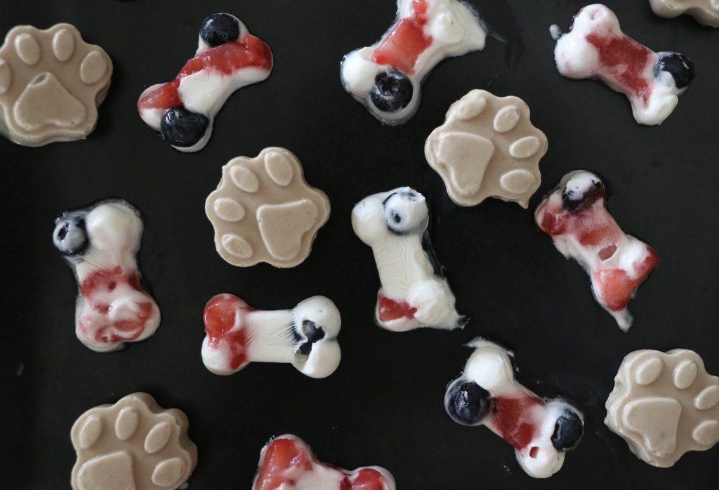 Pupsicle Recipe DIY Frozen Dog Treats