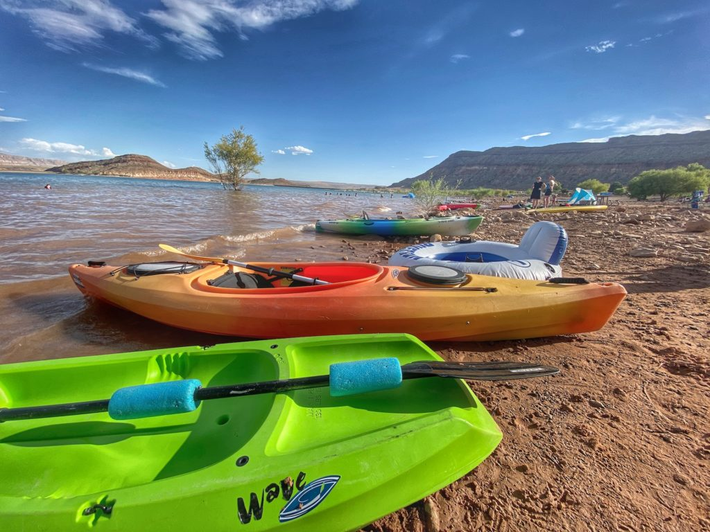 Bucket List Thing To Do In Zion National Park kayak lake