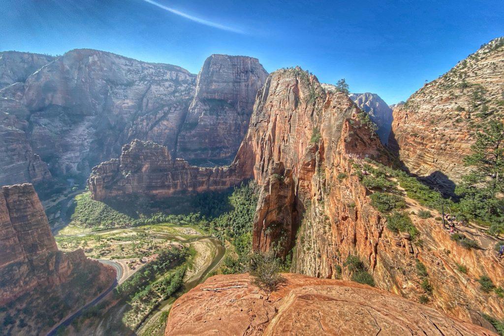 Zion Bucket List Angel's Landing Hike Trail Best Hike In Zion 16