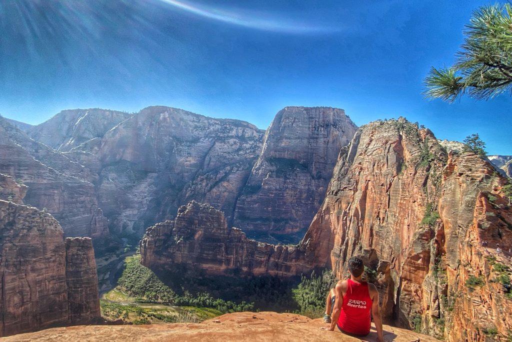 Zion Bucket List Angel's Landing Hike Trail Best Hike In Zion 17