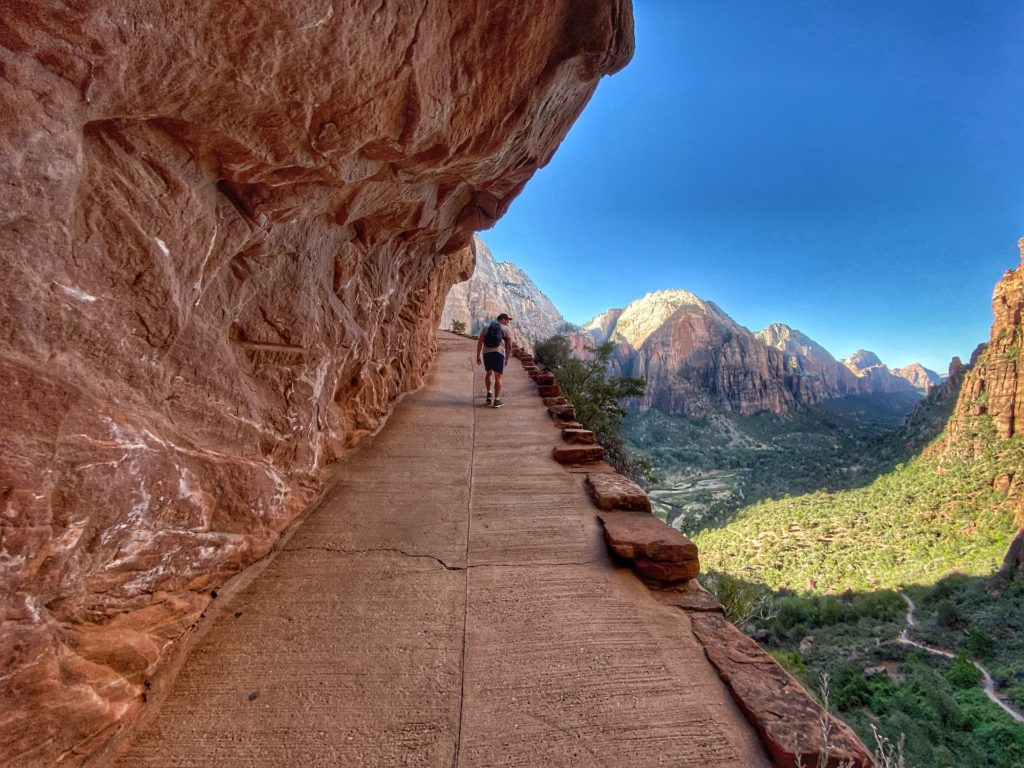 Zion Bucket List Angel's Landing Hike Trail Best Hike In Zion 16