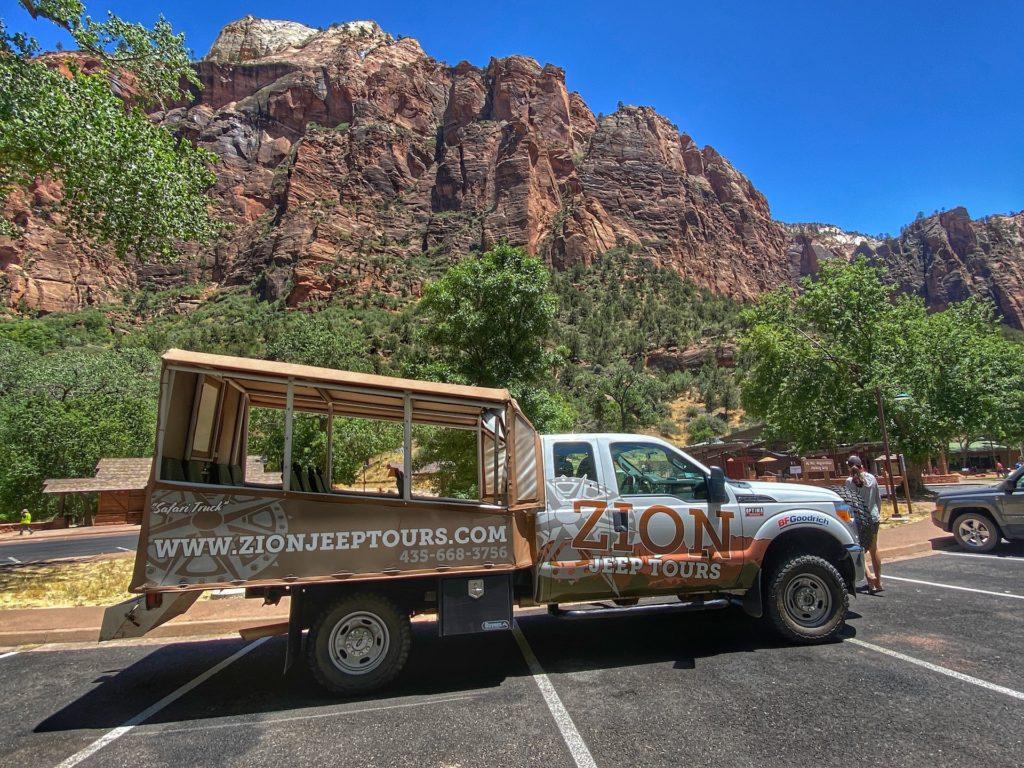 Zion Jeep Tours Must Do Zion
