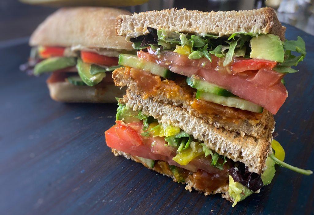 Best Vegan Sandwich Recipe | Vegetarian Sandwich Easy