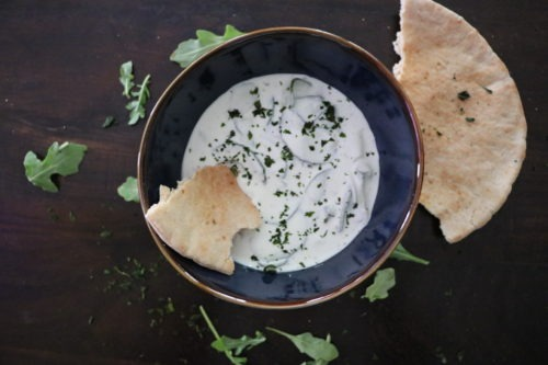 Easy Quick Simple Tzatziki recipe