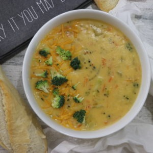 Best Easy Broccoli Cheddar Soup Like Panera Recipe