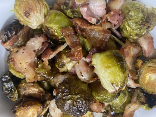 Easy Brussel Sprouts With Bacon Recipe