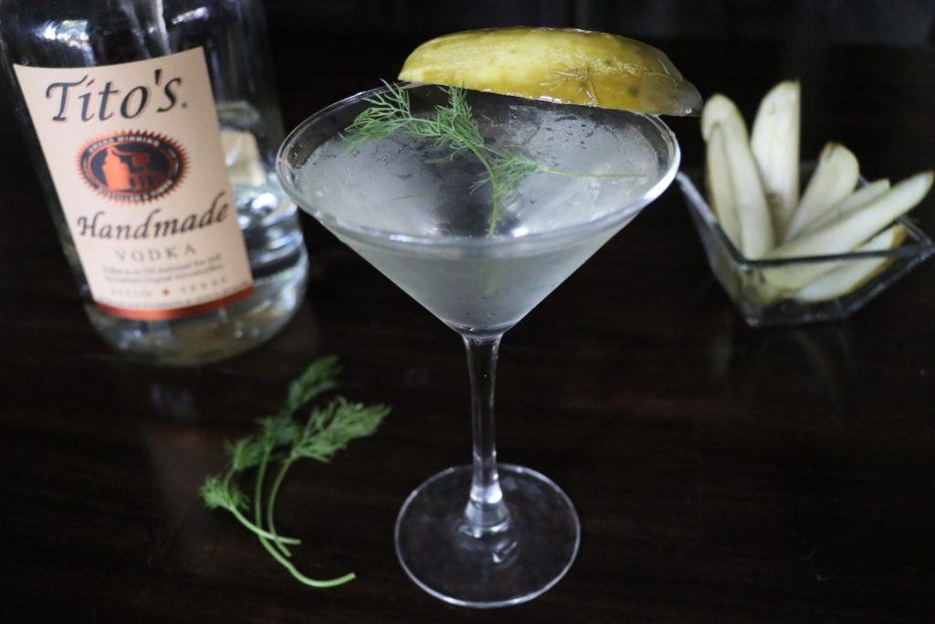 Easy Pickle Martini Recipe Dill Pickle Martini Spicy Pickle Martini 2