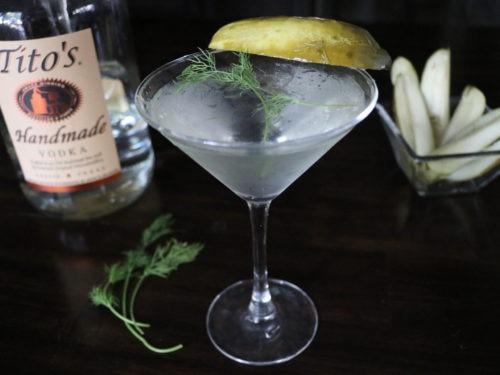 Easy Pickle Martini Recipe Dill Pickle Martini Spicy Pickle Martini 2