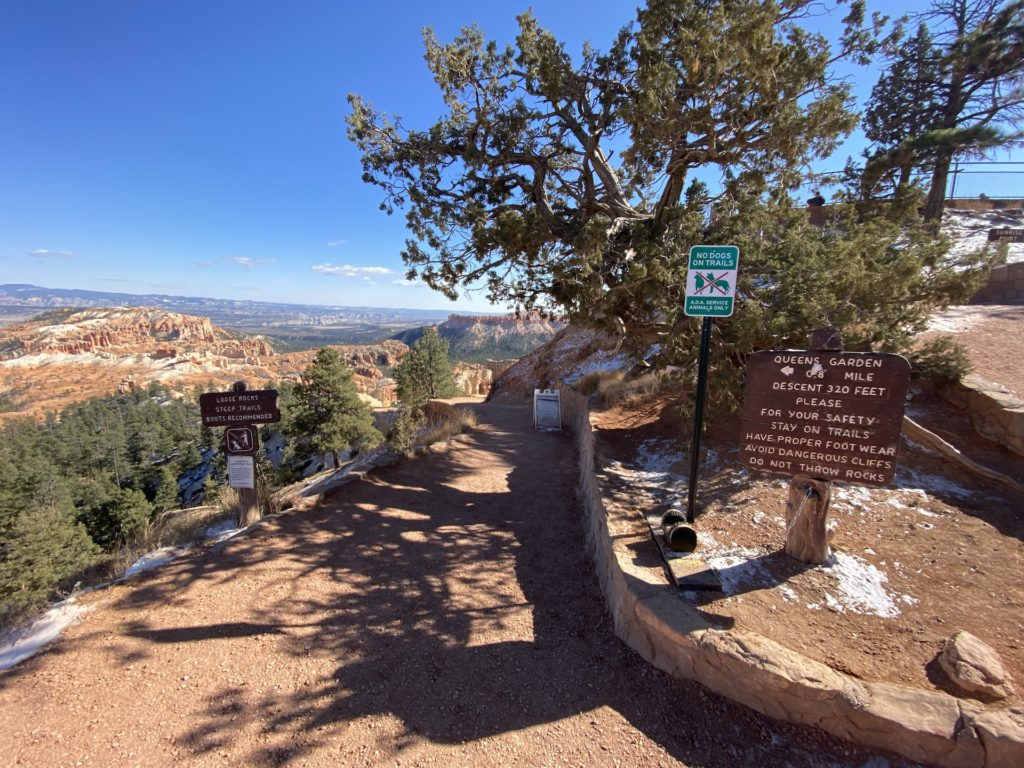 Queen's Garden Trail Hike Bryce Canyon