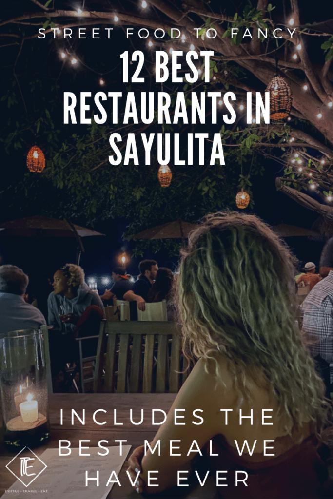 Best Restaurants in Sayulita pin