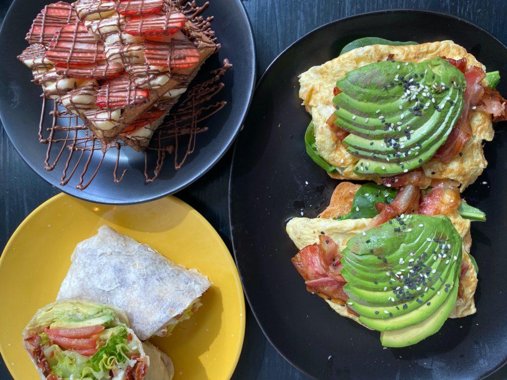 Best restaurants in Sayulita YAH-YAHs breakfast