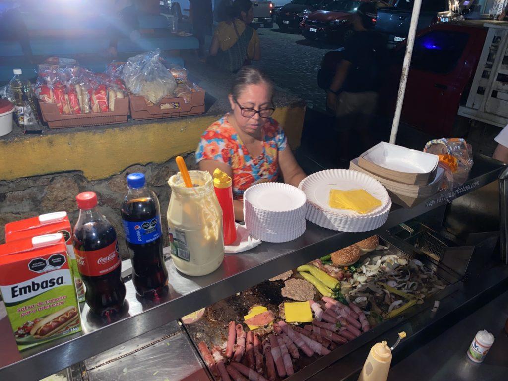 Best restaurants in Sayulita hamburger 2