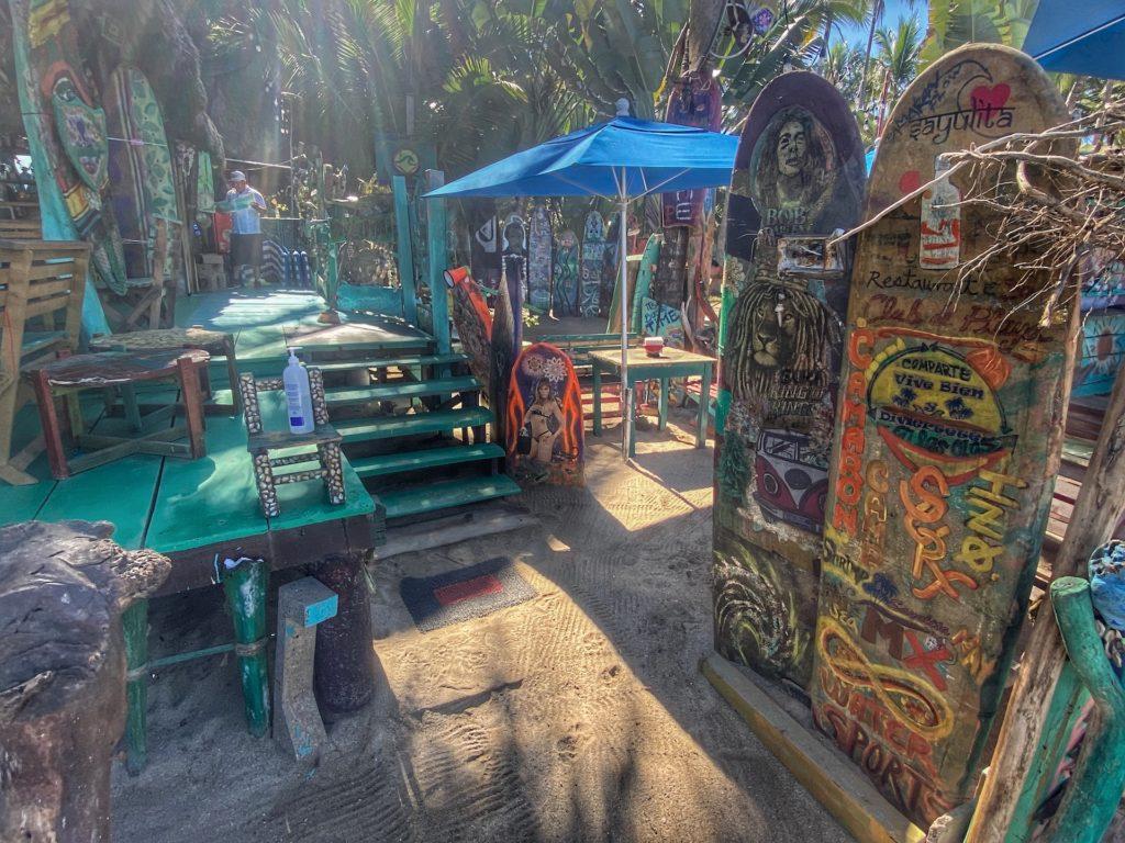 Sayulita best bars Club de Playa Camaron 3