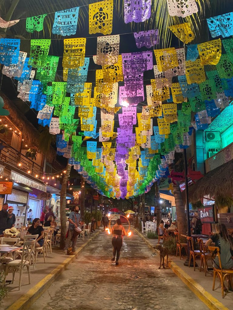 Sayulita best things to do flag street 2