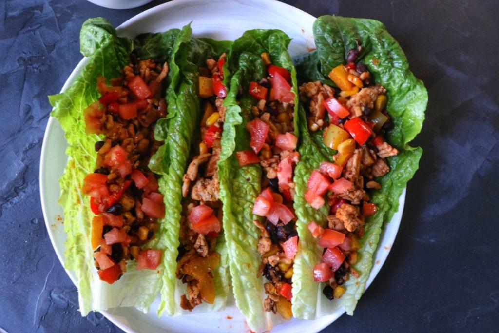 Best Easy healthy lettuce wrap tacos