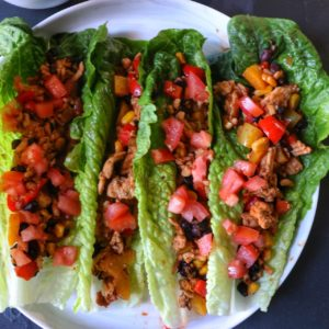 Best Easy healthy lettuce wrap tacos