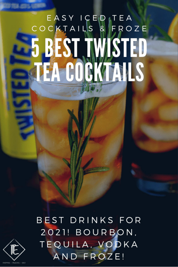 Best twisted tea cocktails