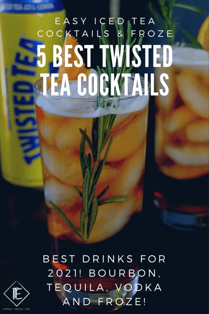 Best twisted tea cocktails