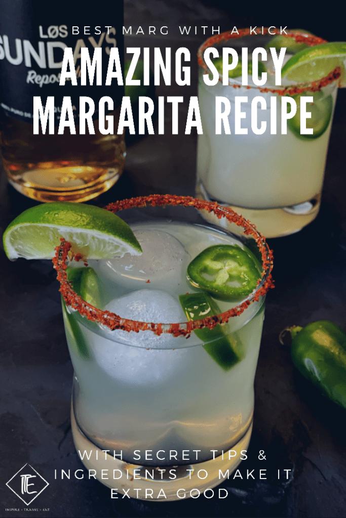 Easy Spicy Margarita Recipe